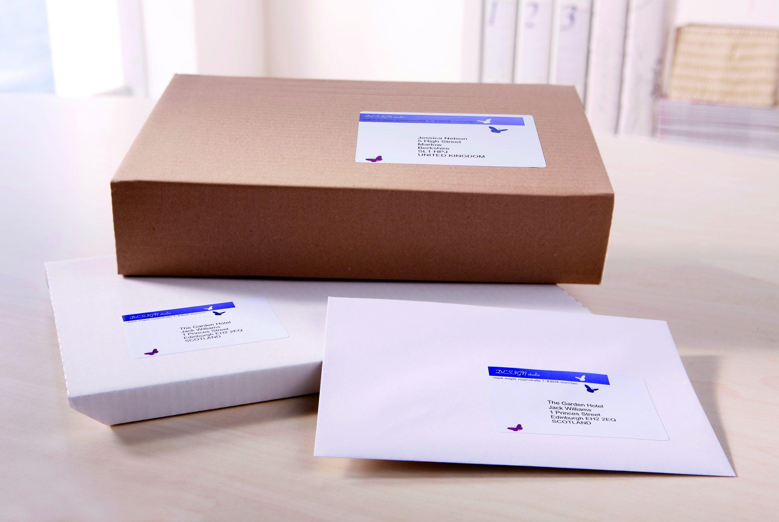 Печать наклеек на конверты в Москве   фото 5