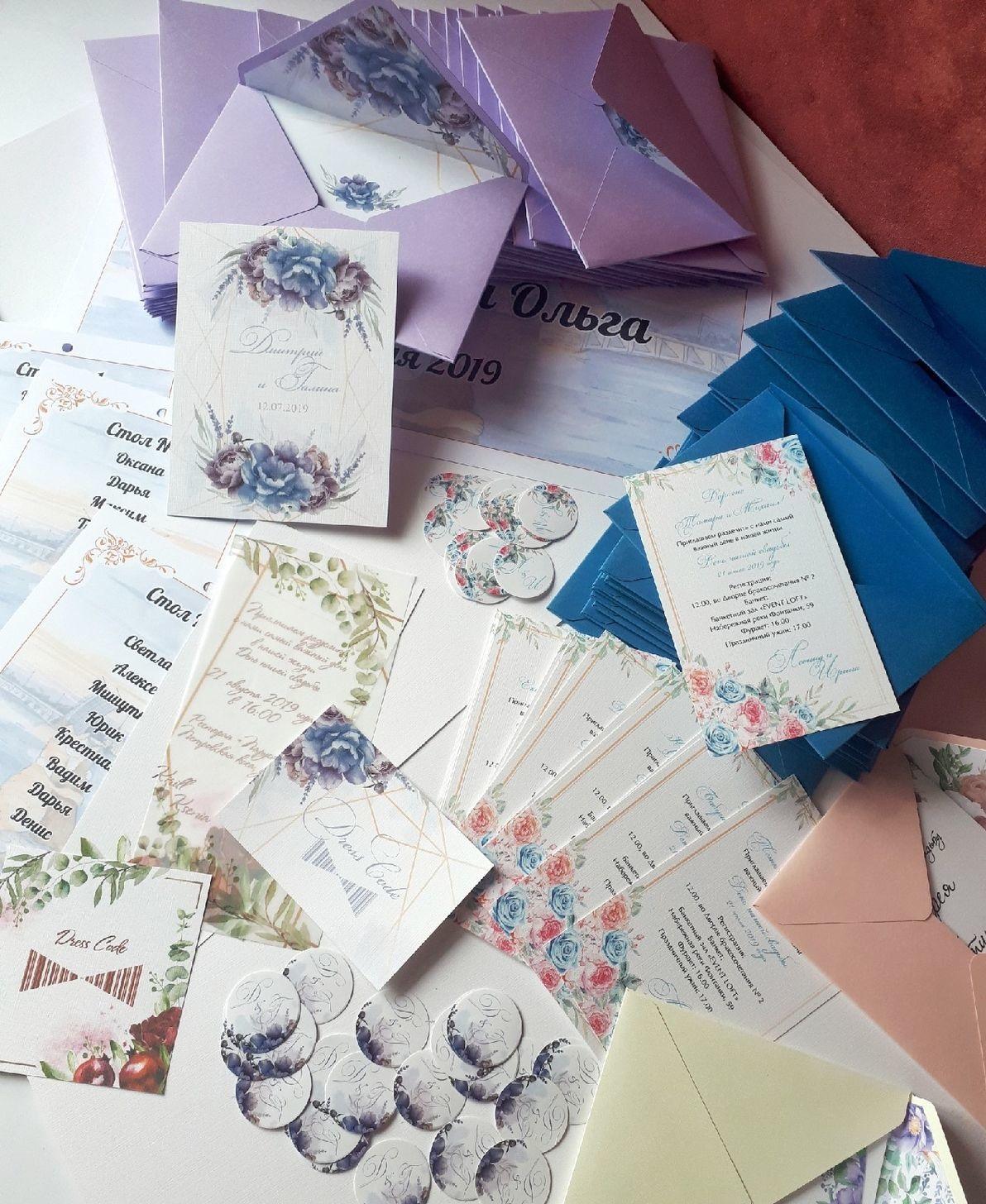 Печать наклеек на конверты в Москве   фото 6