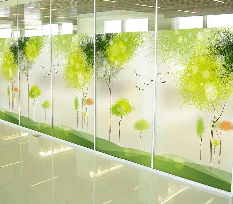 Печать наклеек на стекло витрины в Москве   фото 2