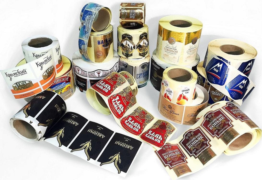Печать наклеек на товар в Москве | фото 4