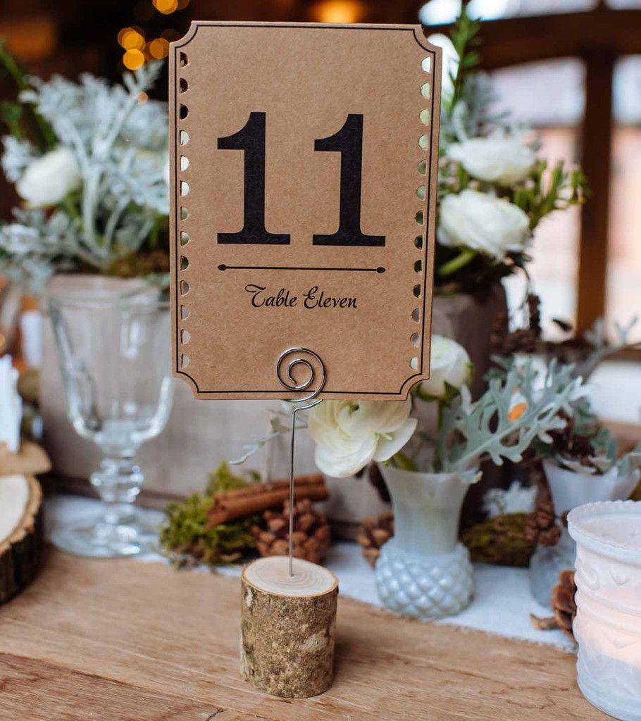 Печать нумерации столов для свадьбы в Москве | фото 6