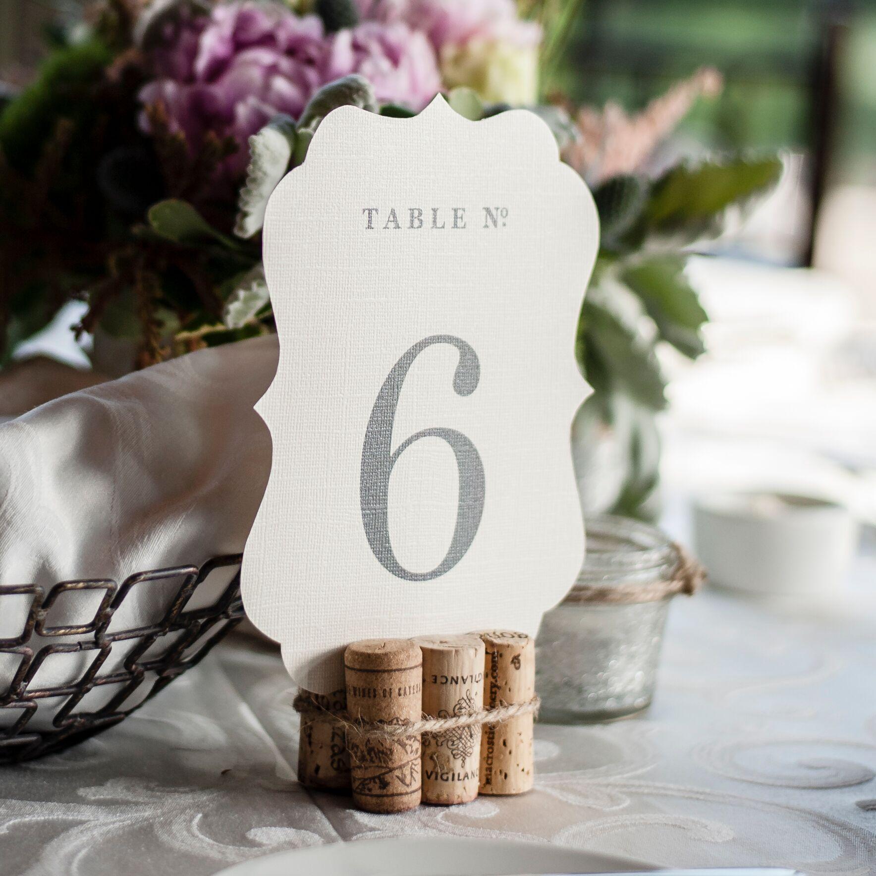 Печать нумерации столов для свадьбы в Москве | фото 7