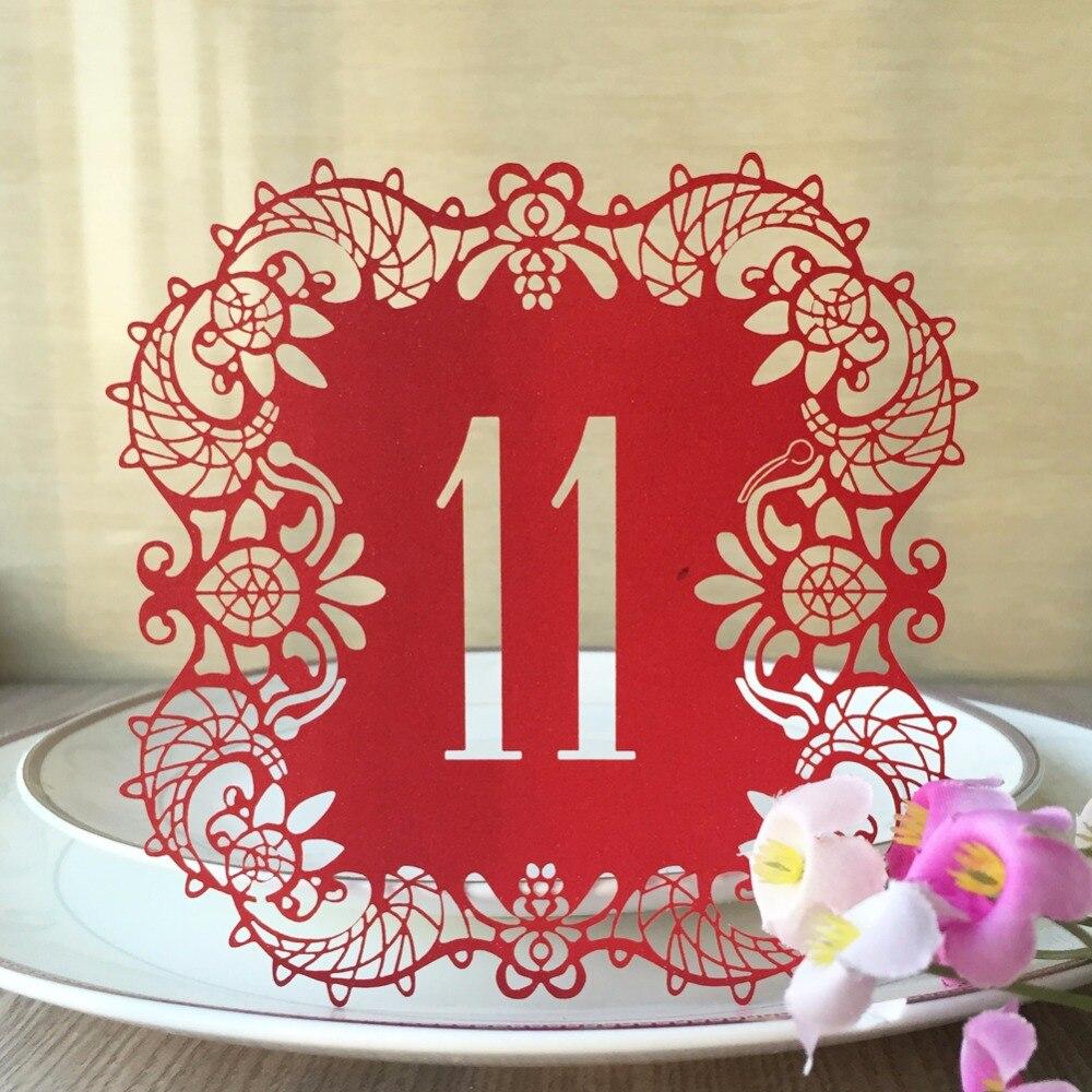 Печать нумерации столов для свадьбы в Москве | фото 8