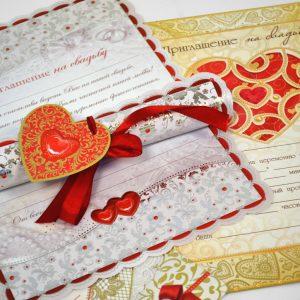 Печать праздничных открыток на свадьбу