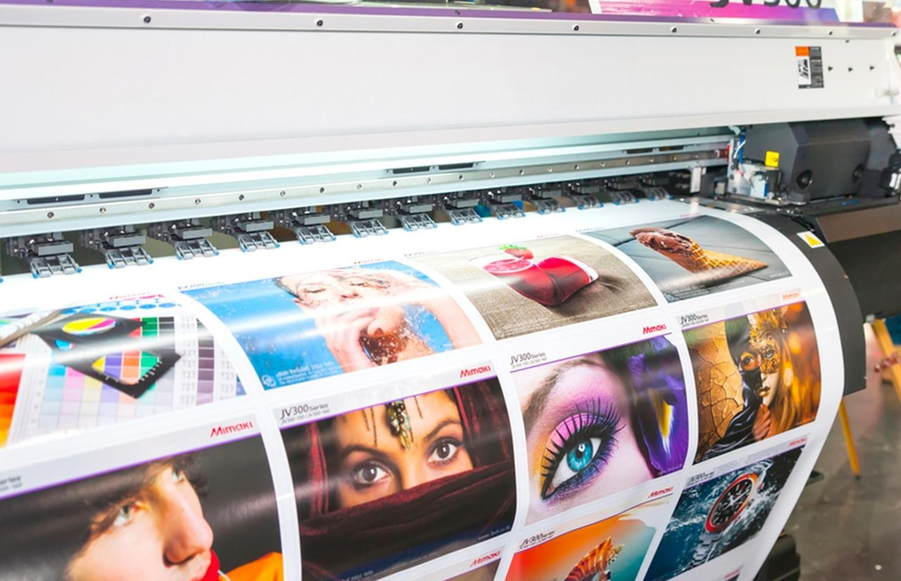Печать широкоформатных наклеек в Москве | фото 3