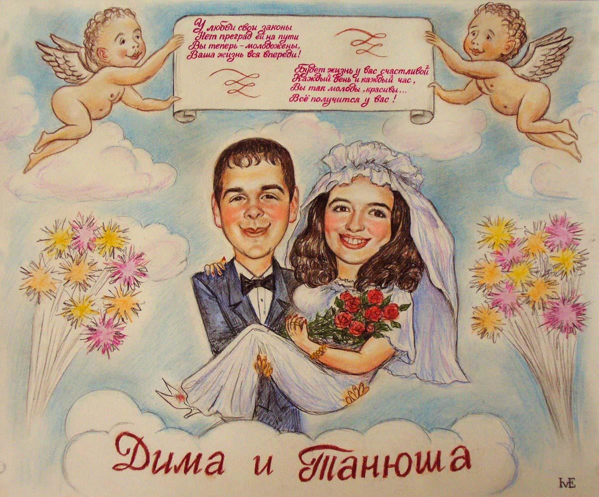 Печать свадебных плакатов и постеров дешево
