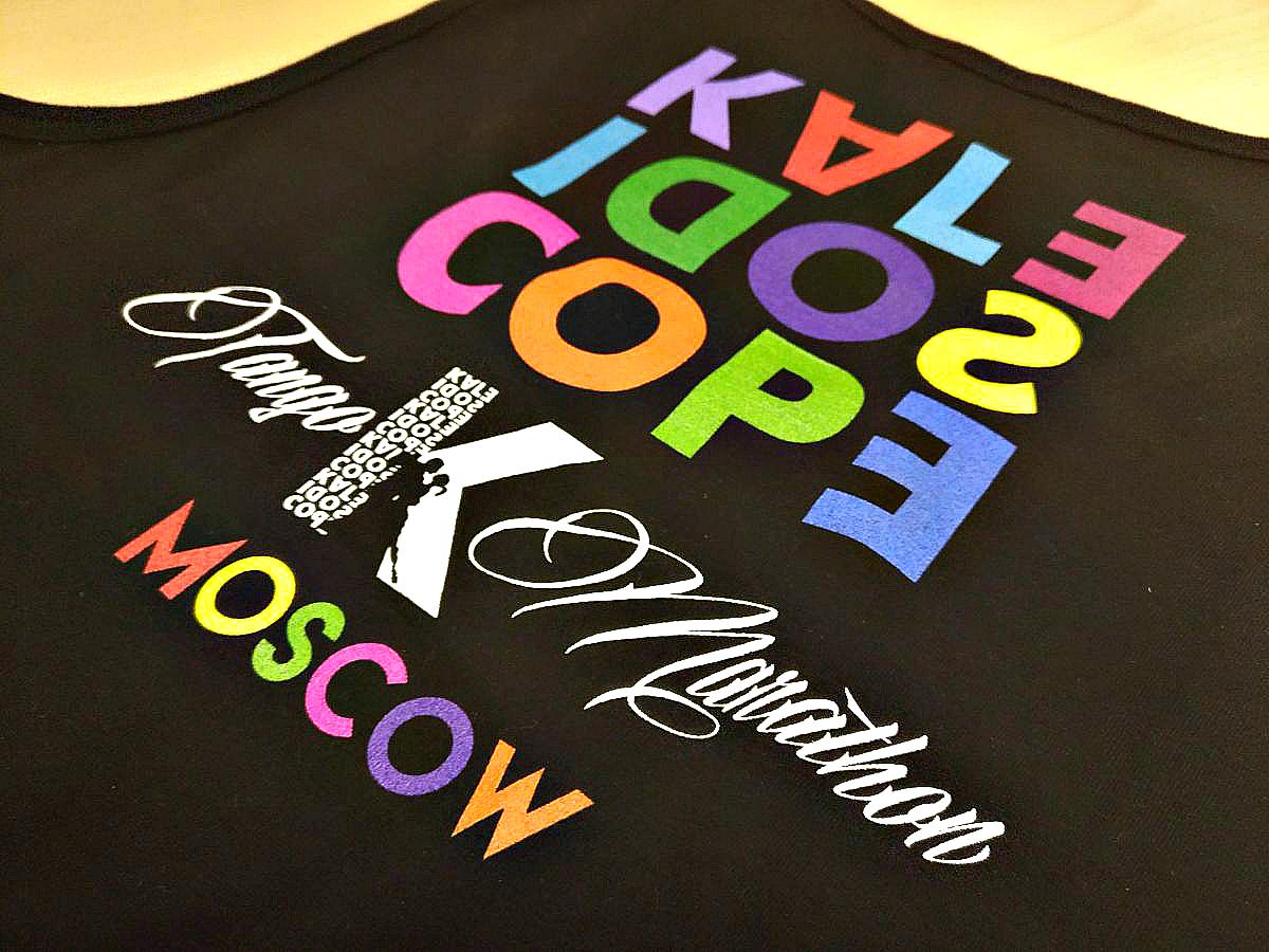 Печать термотрансферных наклеек для одежды в Москве | фото 1