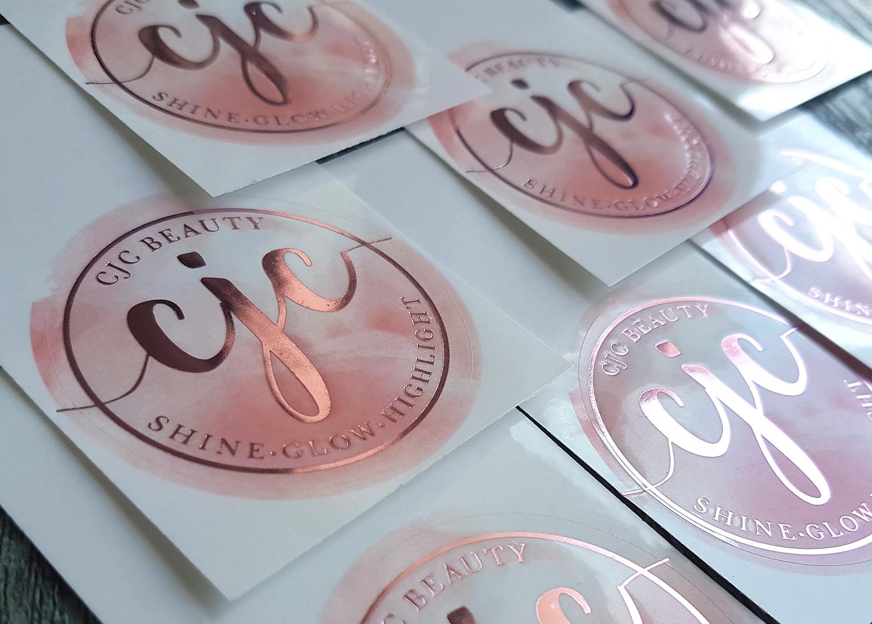 Прозрачные наклейки с логотипом в Москве | фото 5