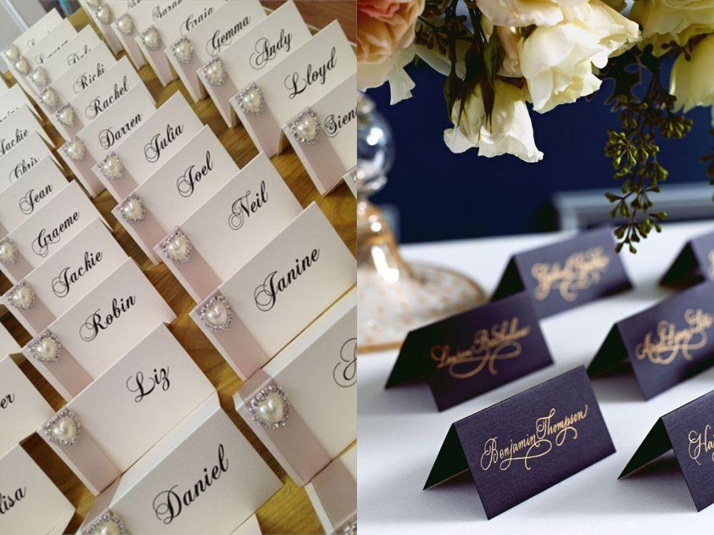 Изготовление рассадочных банкетных карточек для свадьбы в Москве | фото 2