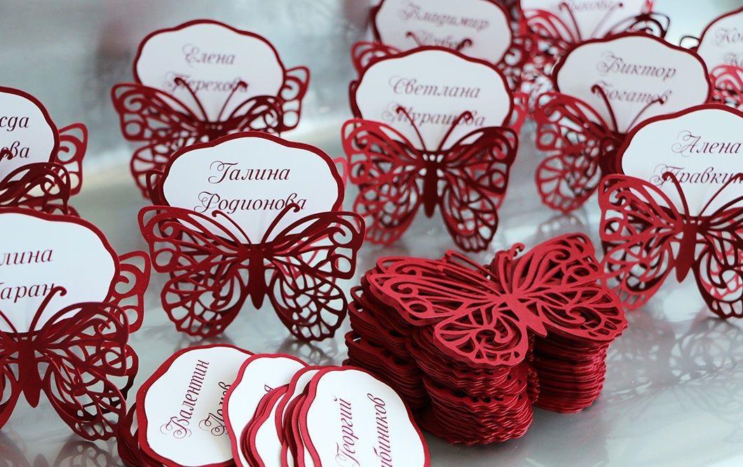 Изготовление рассадочных банкетных карточек для свадьбы в Москве | фото 4