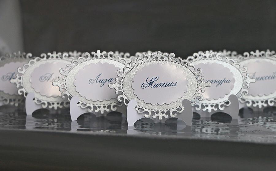 Изготовление рассадочных банкетных карточек для свадьбы в Москве | фото 5