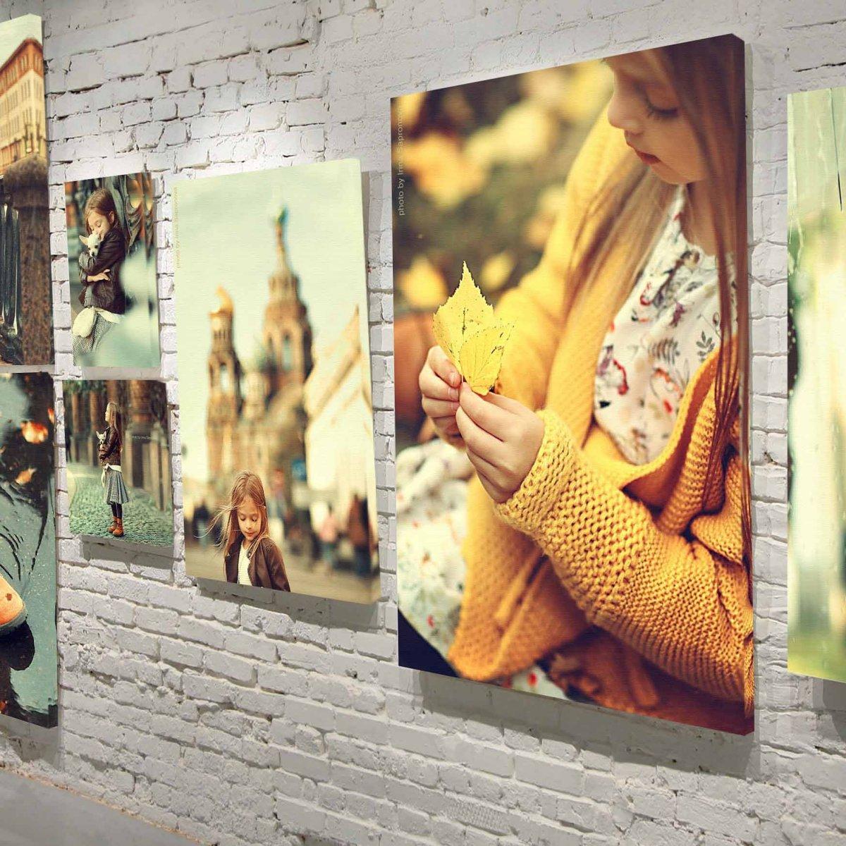 Размеры холстов для печати фотографий заказать