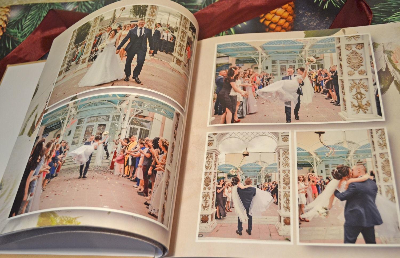 Изготовление свадебных фотоальбомов и фотокниг в Москве