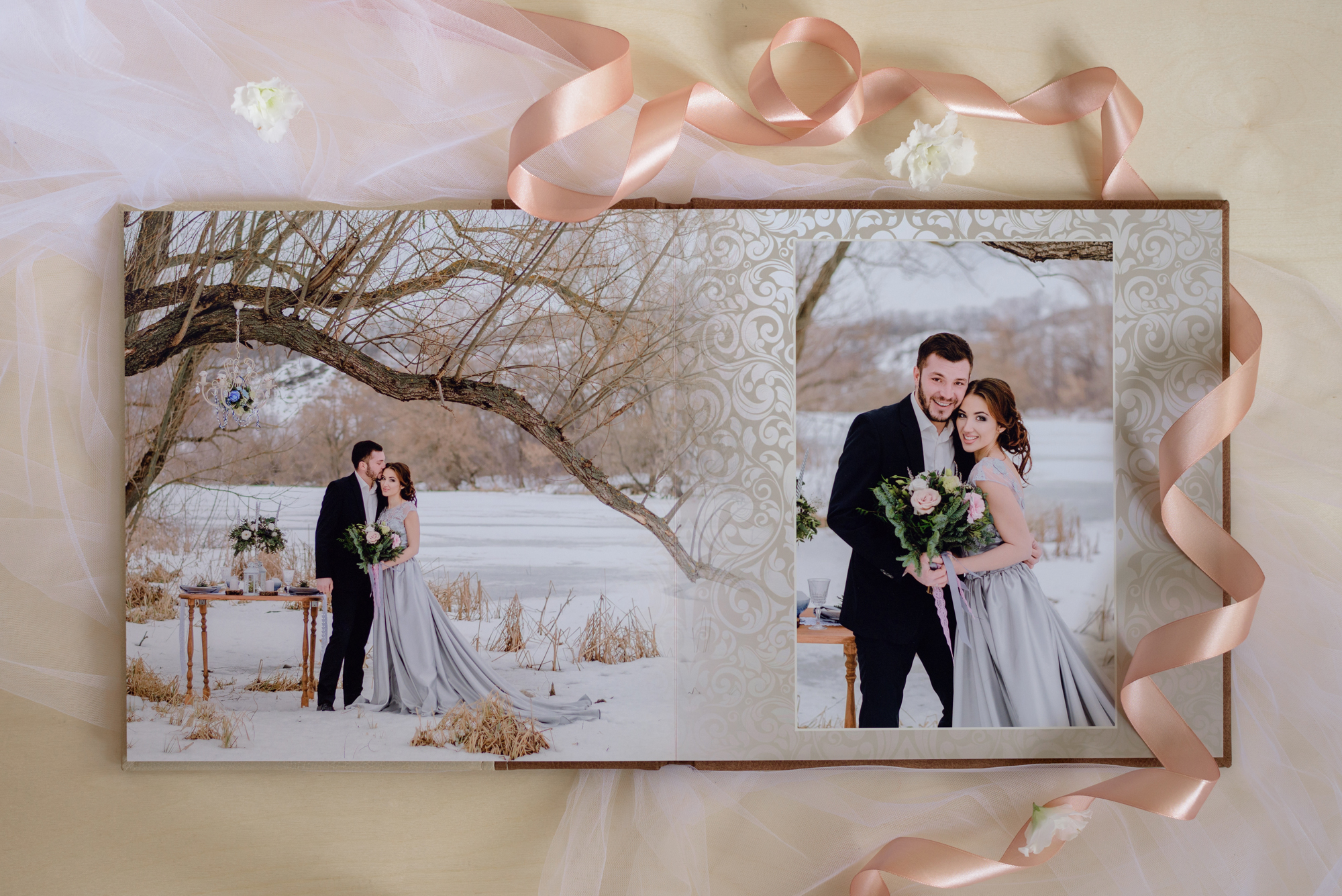 Изготовление свадебных фотоальбомов и фотокниг дешево