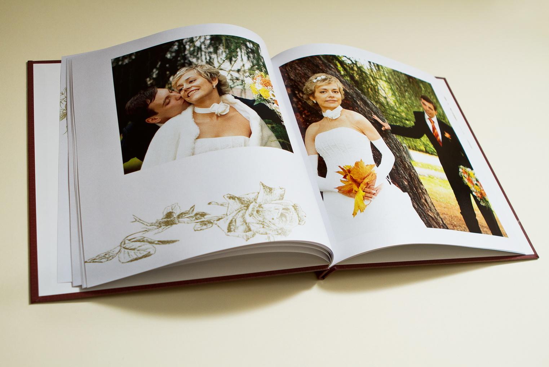 Изготовление свадебных фотоальбомов и фотокниг
