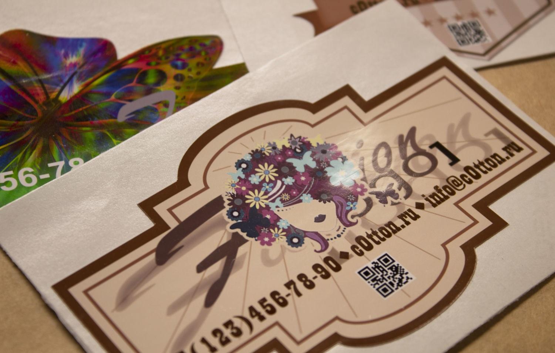 Печать глянцевых наклеек в Москве | фото 6