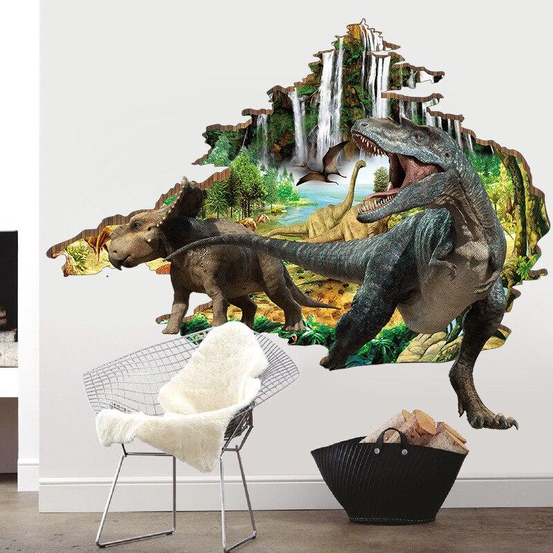 Печать интерьерных наклеек динозавры в Москве | фото 3