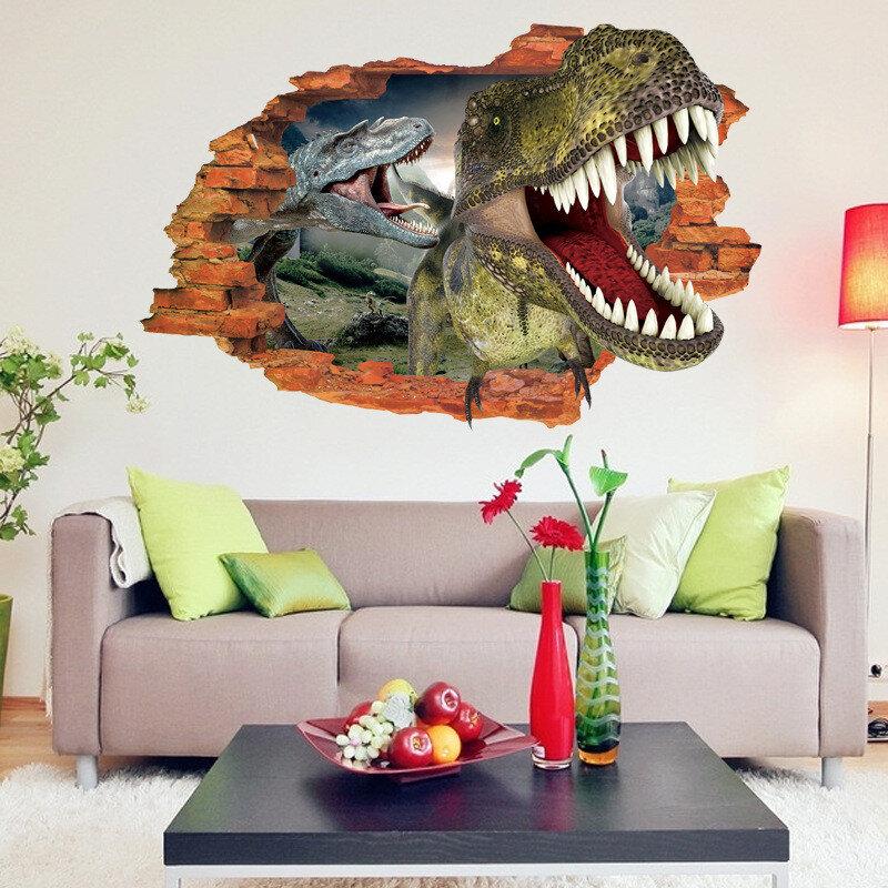 Печать интерьерных наклеек динозавры в Москве | фото 6