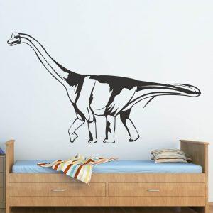 Печать интерьерных наклеек динозавры