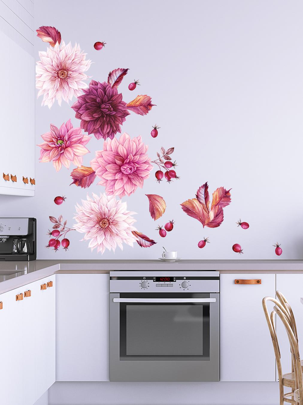 Печать интерьерных наклеек на кухню в Москве   фото 4