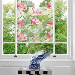 Печать интерьерных наклеек окно