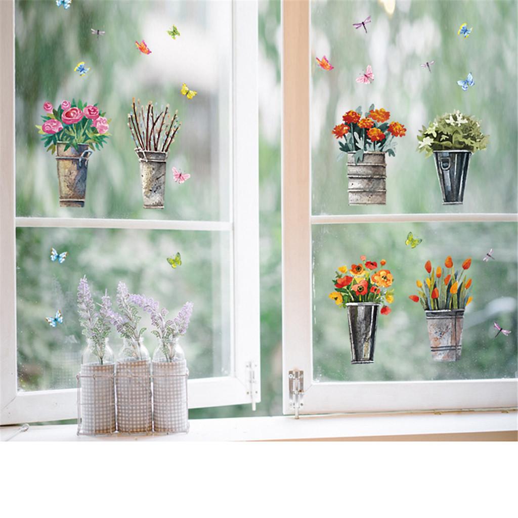 Печать интерьерных наклеек окно в Москве   фото 8