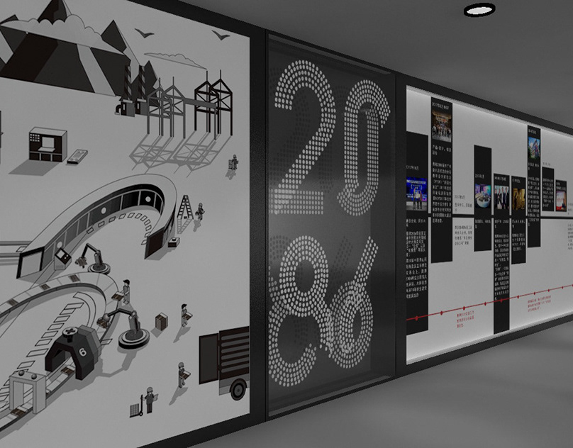 Печать интерьерных наклеек в коридор в Москве | фото 1