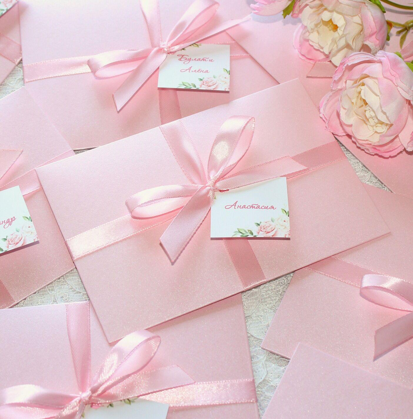 Изготовление свадебных пригласительных конвертов в Москве | фото 3