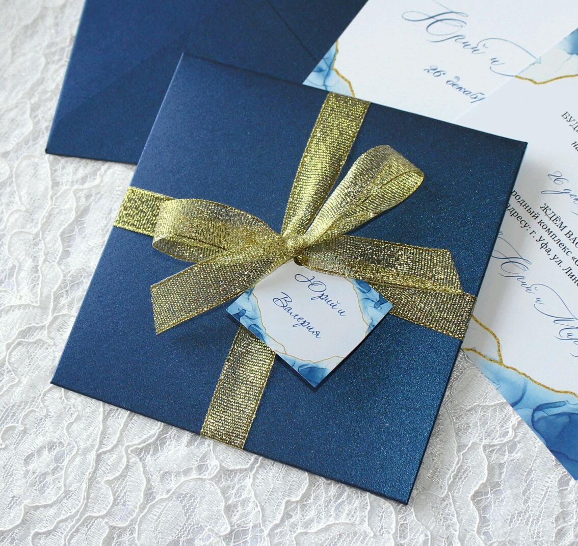 Изготовление свадебных пригласительных конвертов в Москве | фото 4