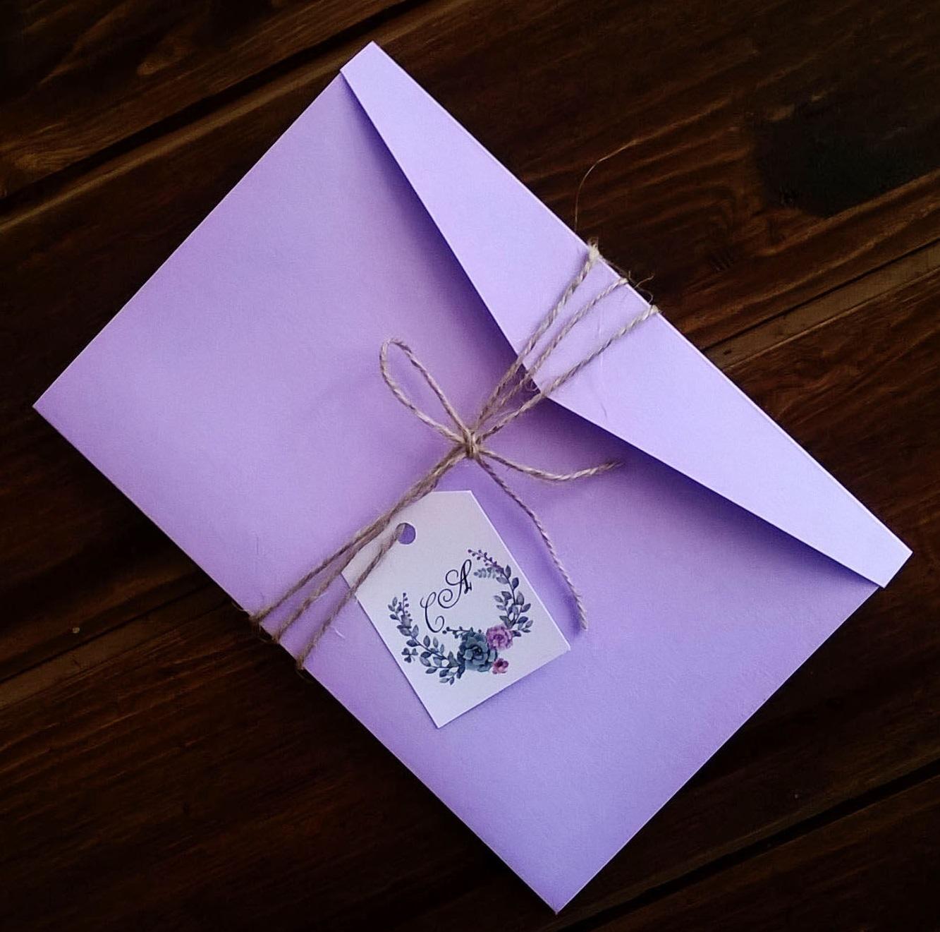 Изготовление свадебных пригласительных конвертов в Москве | фото 5