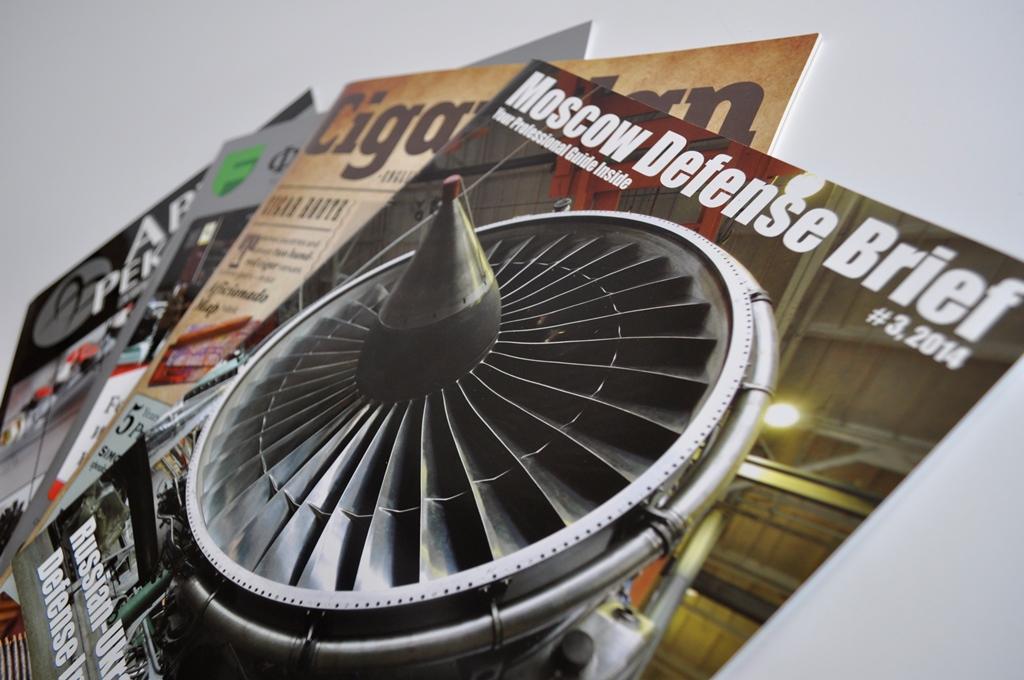 Офсетная печать журналов в Москве   фото 8
