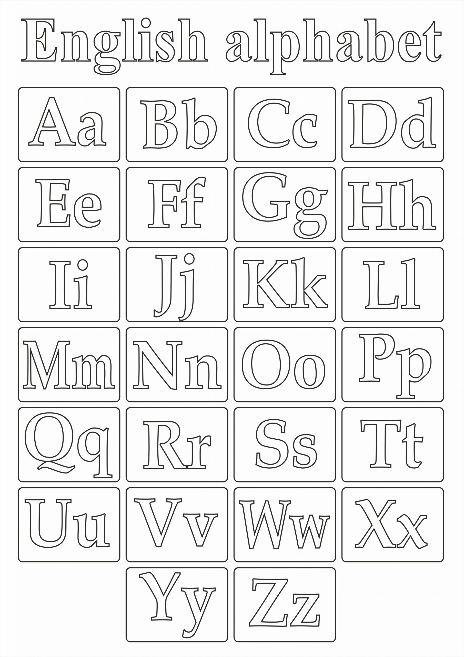 Печать карточек английского алфавита в Москве   фото 4