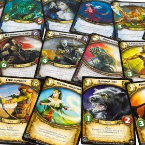 Печать карточек для игр