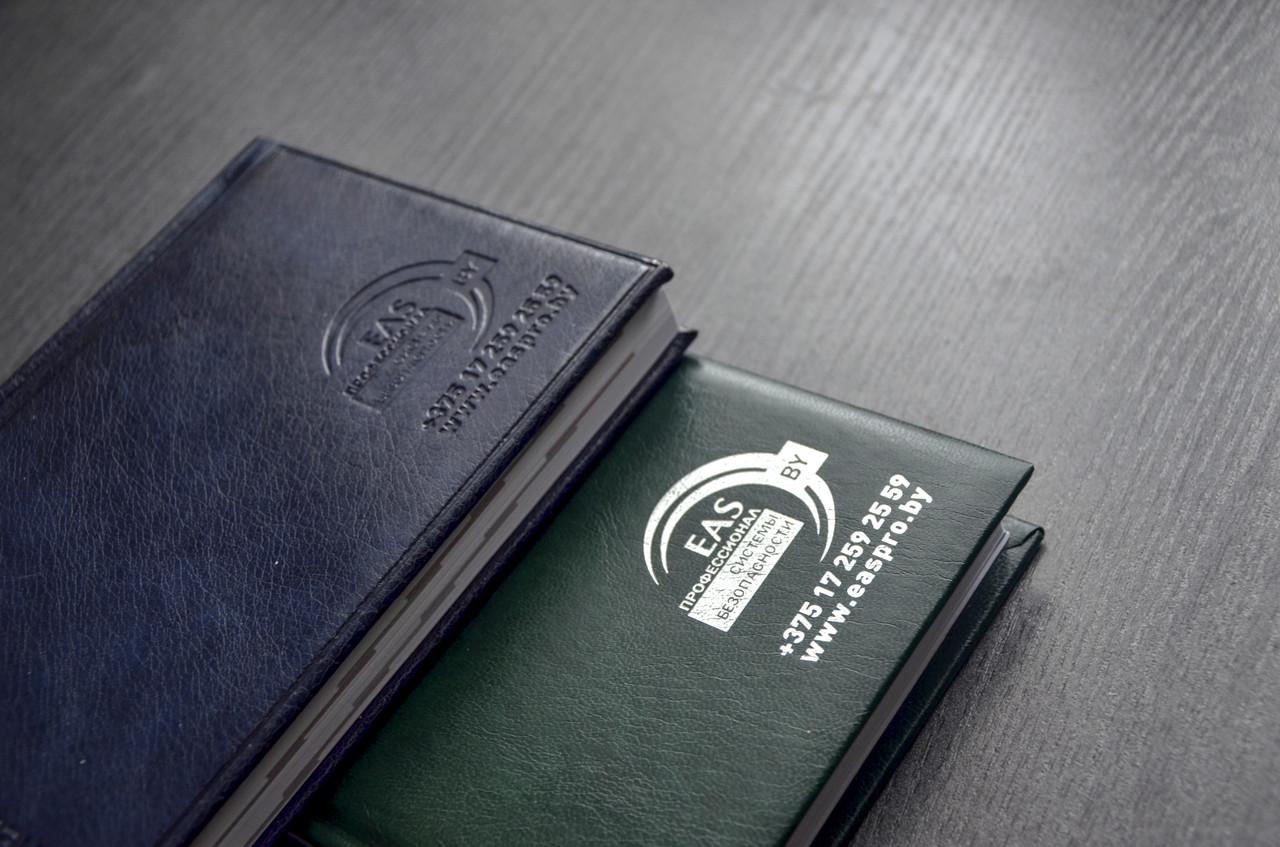 Печать логотипов на ежедневниках в Москве | фото 5