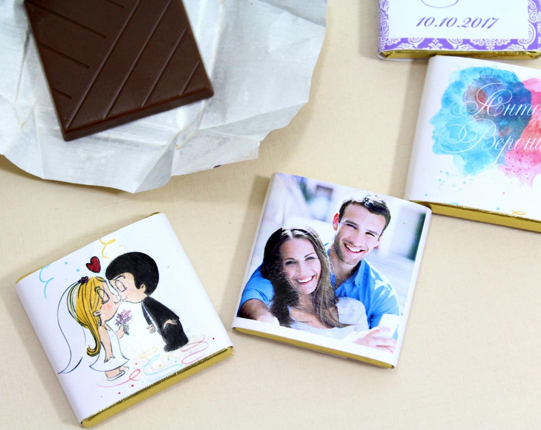 Печать наклеек для шоколада в Москве | фото 8