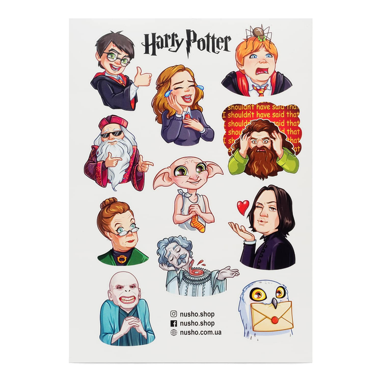 Печать наклеек Гарри Поттер в Москве | фото 5