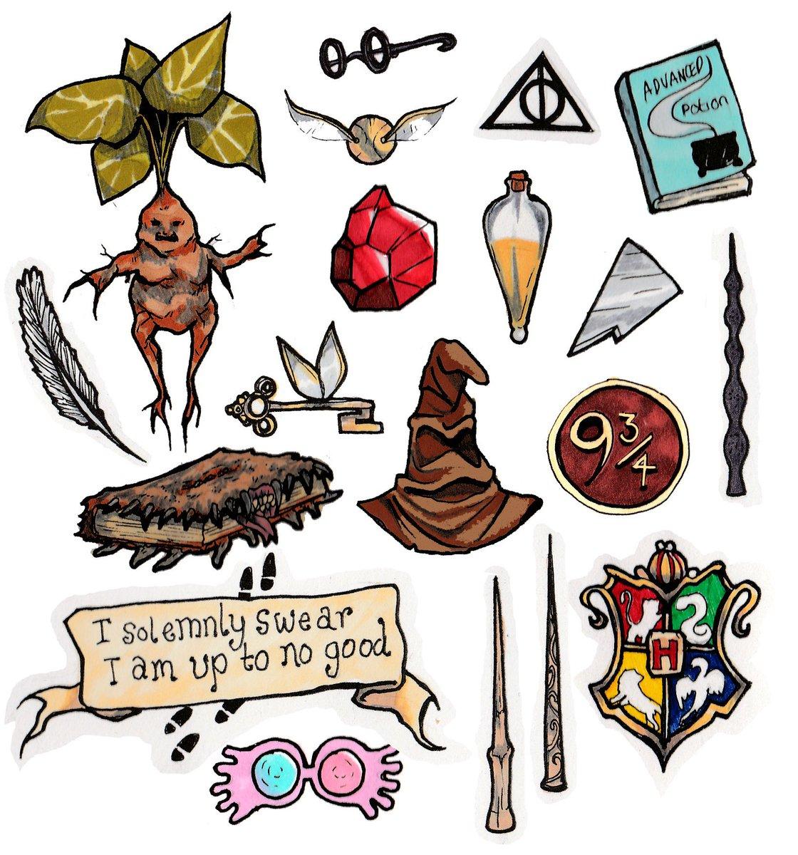 Печать наклеек Гарри Поттер в Москве | фото 7