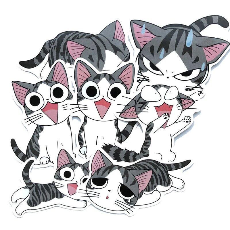 Печать наклеек котиков в Москве | фото 1