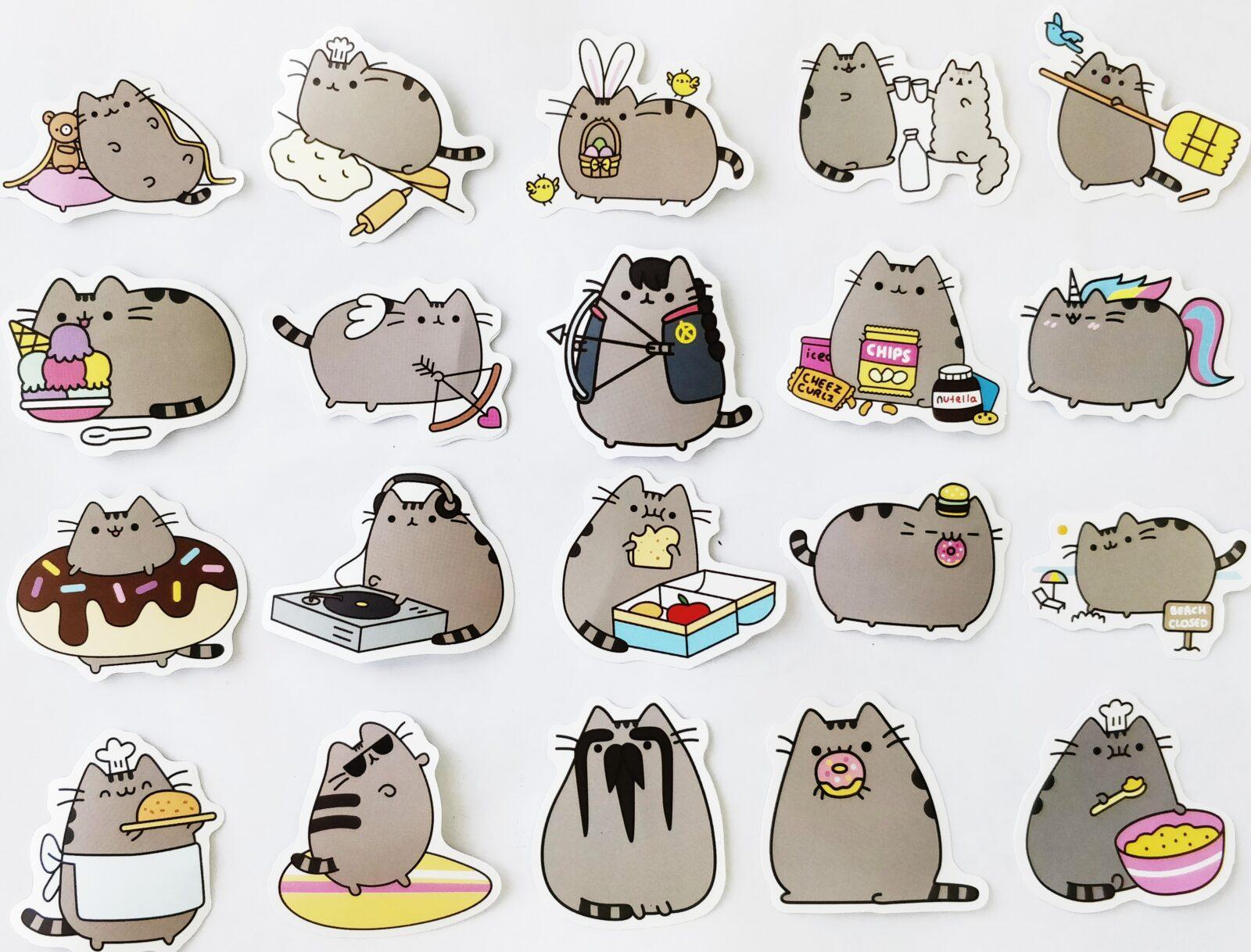 Печать наклеек котиков в Москве | фото 4