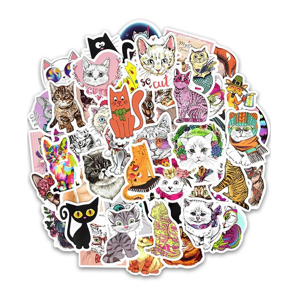 Печать наклеек котиков в Москве | фото 5