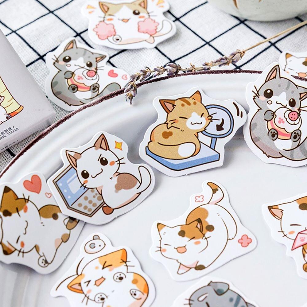 Печать наклеек котиков в Москве | фото 6