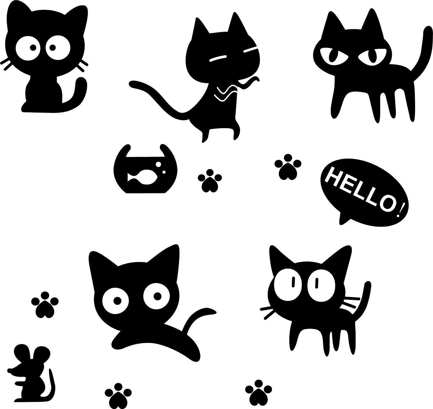 Печать наклеек котиков в Москве | фото 7
