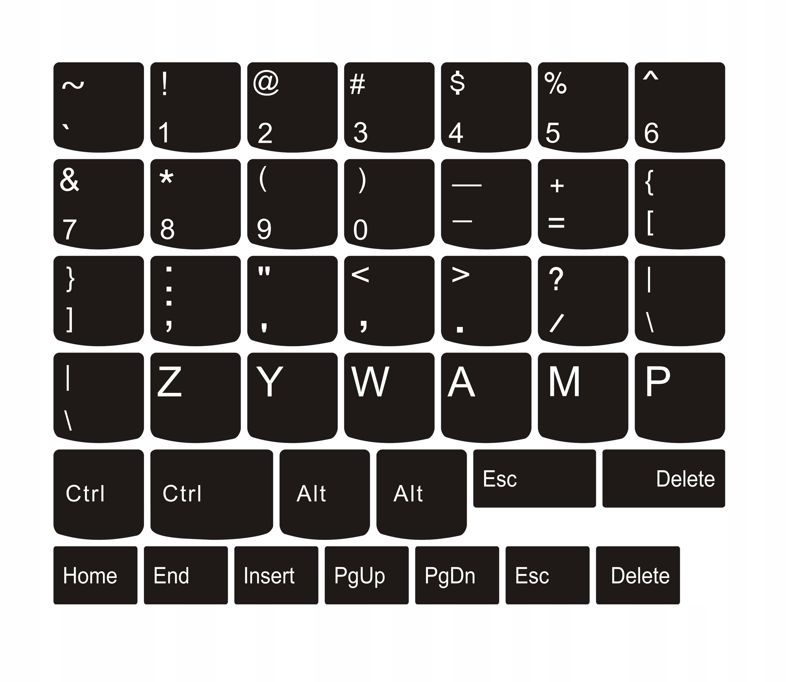 Печать наклеек на клавиатуру в Москве   фото 7