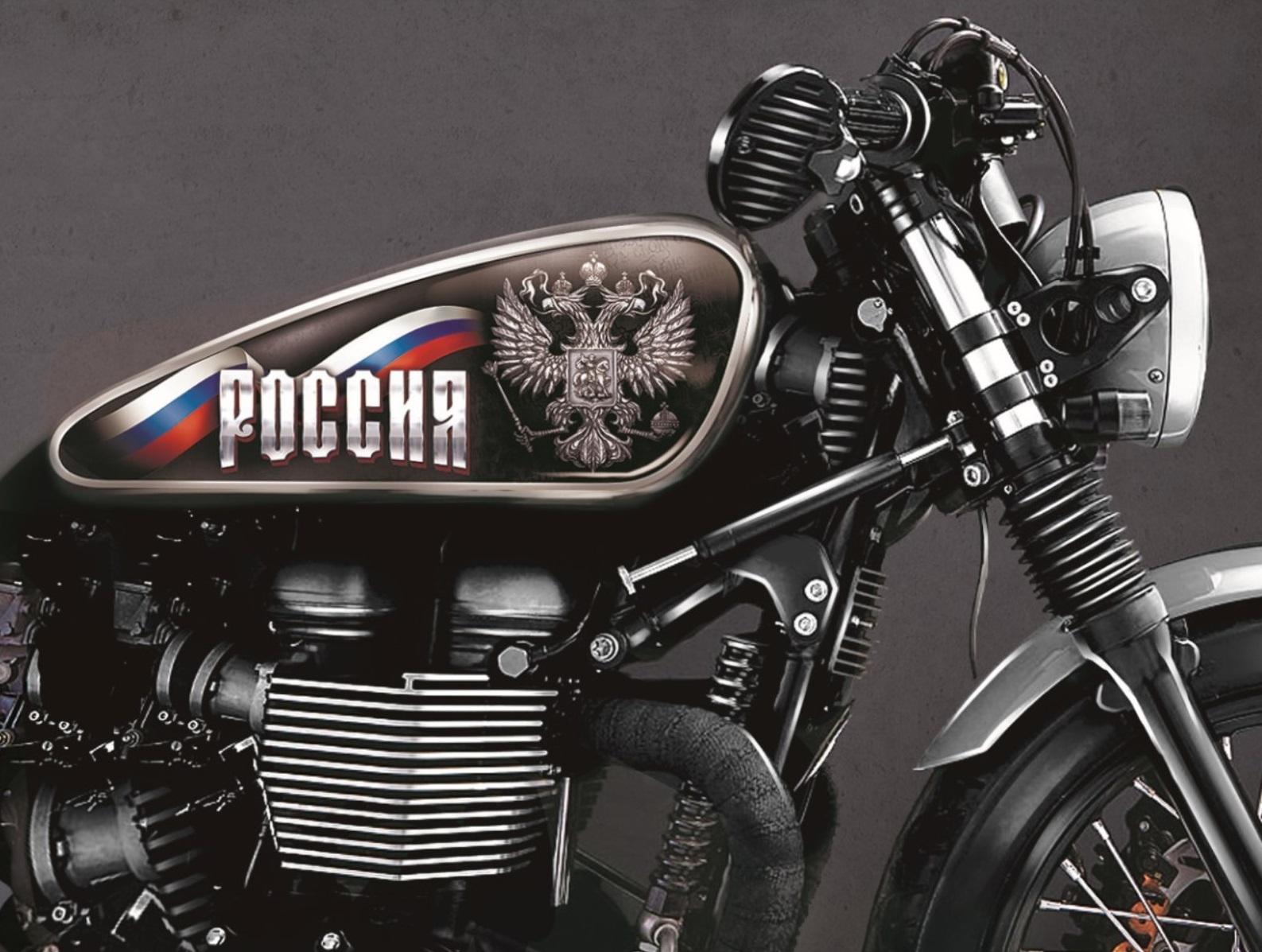 Печать наклеек на мотоцикл в Москве | фото 3