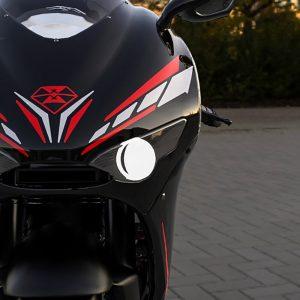 Печать наклеек на мотоцикл