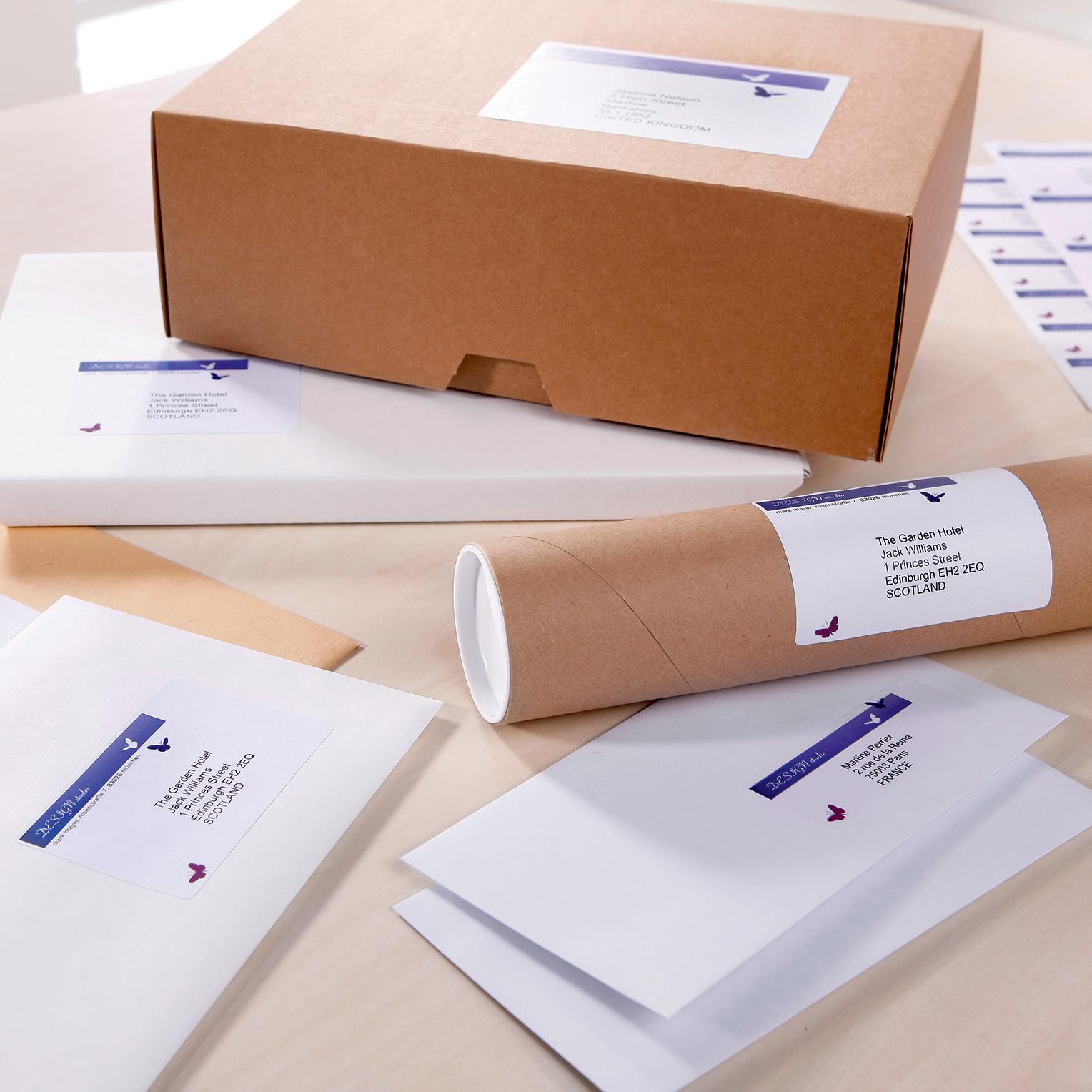 Печать наклеек на посылку в Москве | фото 2