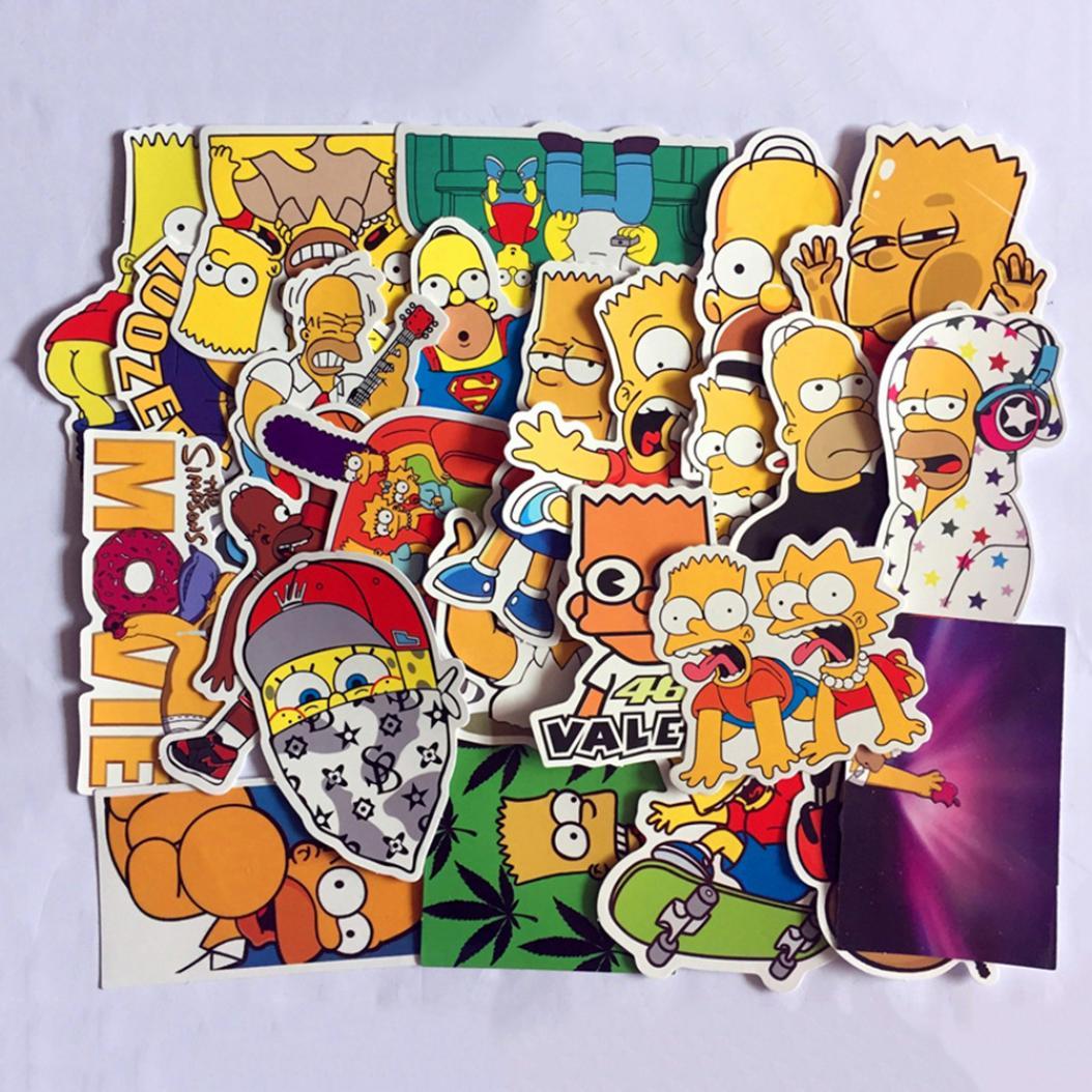 Печать наклеек разных персонажей