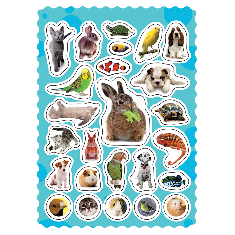 Печать наклеек животных в Москве | фото 2