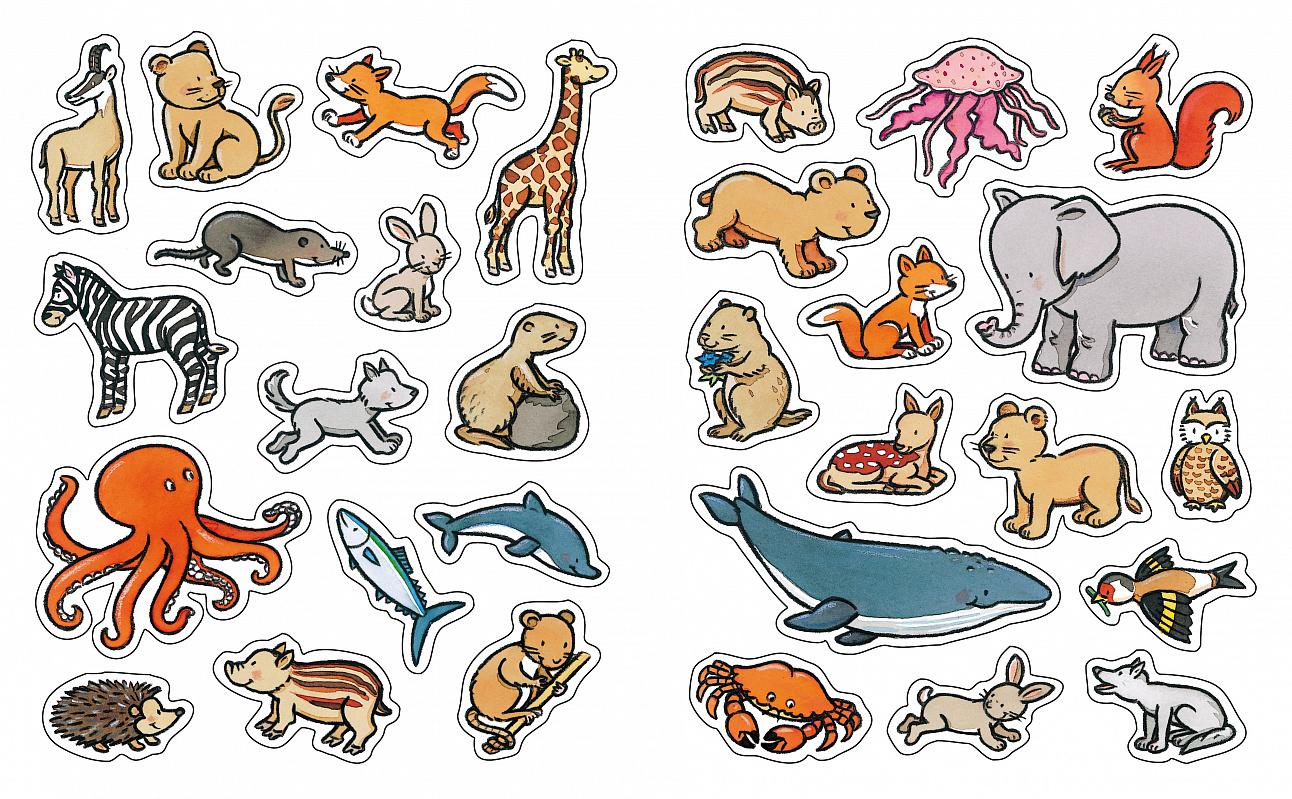 Печать наклеек животных в Москве | фото 3