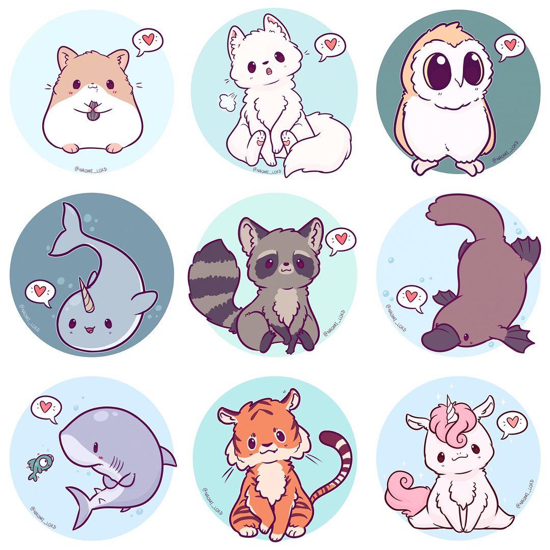 Печать наклеек животных в Москве | фото 1